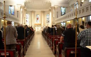 Photo of interior of St Pauls