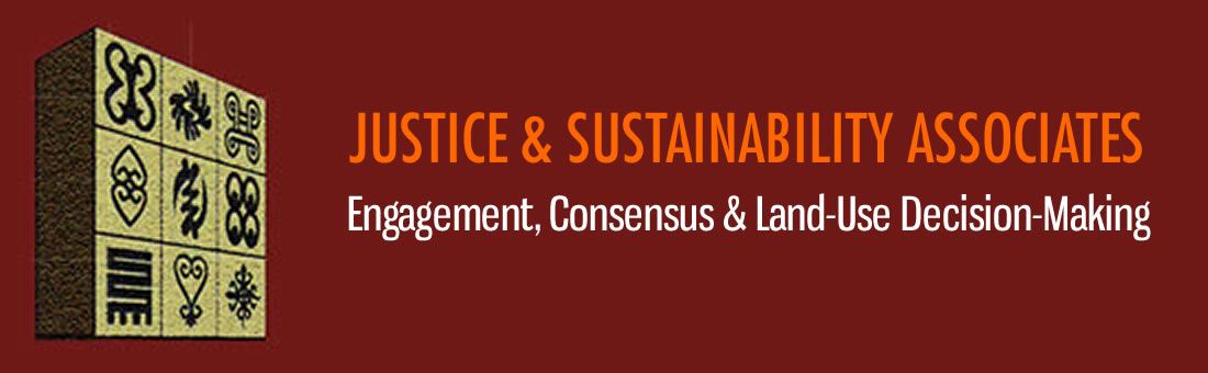 Justice & Sustainability Associates Retina Logo