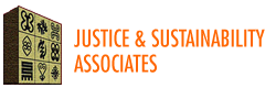 Justice & Sustainability Associates Sticky Logo